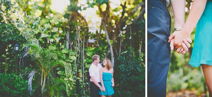 old fort lauderdale engagement photo