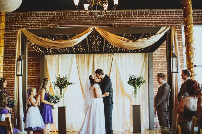 the loom at cotton mill wedding