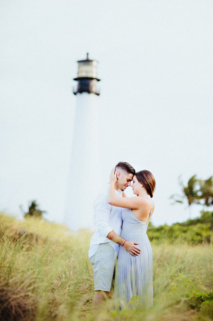 Cape Florida Lighthouse Engagement Pictures