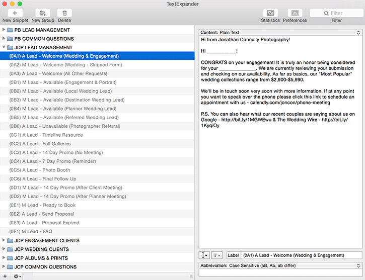text expander for email productivity