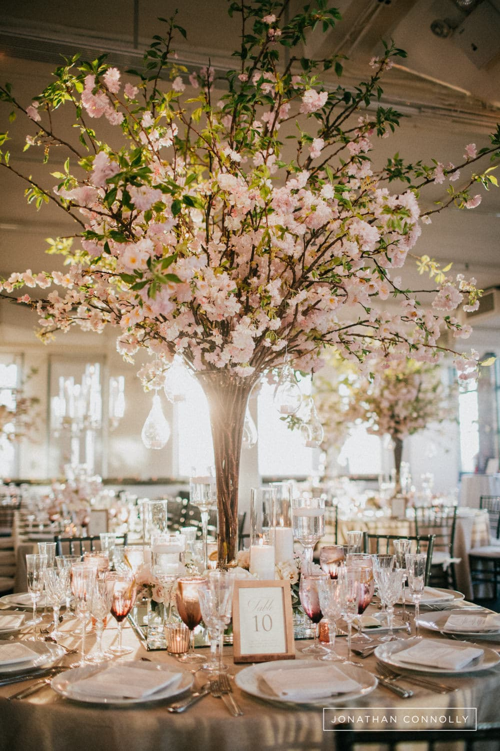 tribeca rooftop wedding reception