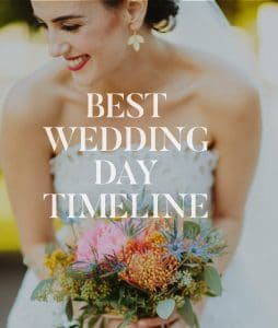wedding day timeline template pdf downloads